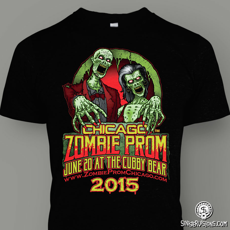 Click HERE to get Zombie Prom Chicago Merch!